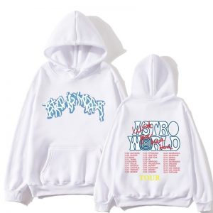 Astroworld Fashion Tour White Pullover Hoodie