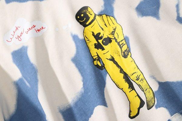 Boris Scott Astroworld America Street Tie-Dye Hoodie