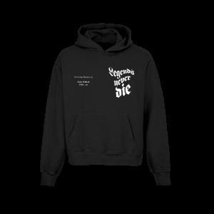 In Loving Memory Black Hoodie (Front)