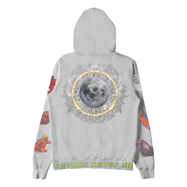 Juice WRLD X ABC Conspiracy of Hope Casual Hoodie (Back)