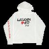 Juice WRLD X Revenge Legends Never Die White Hoodie