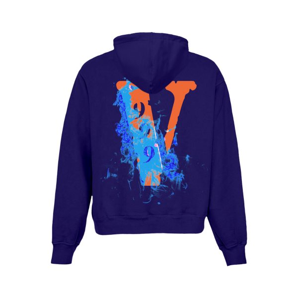 Juice WRLD X VLONE Casual Pullover Hoodie (Back)