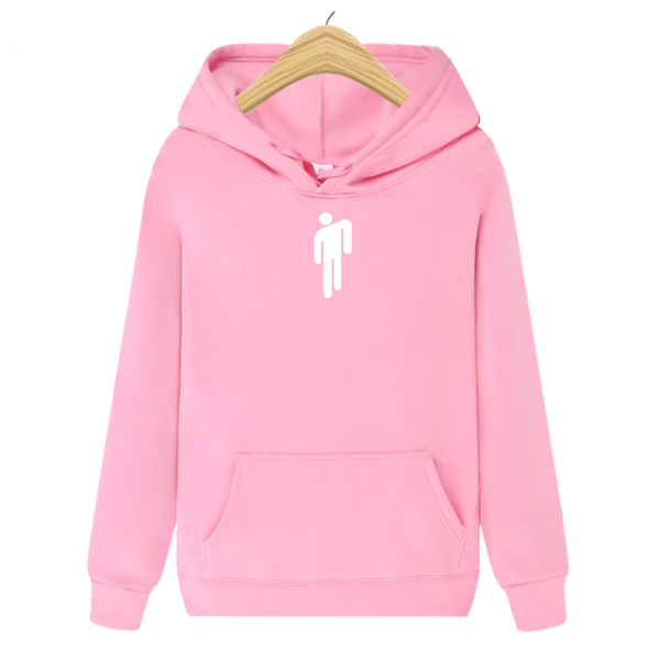 Men's Brand New Casual Outerwear Hip Hop Pink Hoodie 1
