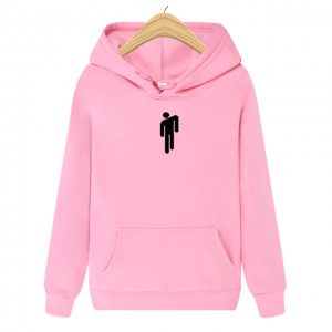 Men's Brand New Casual Outerwear Hip Hop Pink Hoodie 2