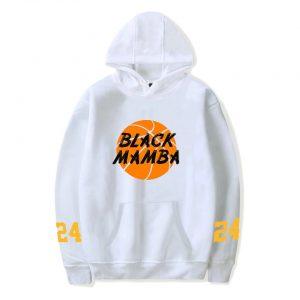 Kobe Bryant Black Mamba 24 Lakers Pullover Hoodies