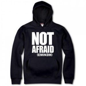 Not Afraid Black Eminem 3D Print Hoodie