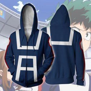 My Hero Academia 3D Hoodie Sweatshirts Uniform Men Women Hoodies