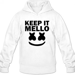 Marshmello keep it mello Men Plain Jacket Hoodie