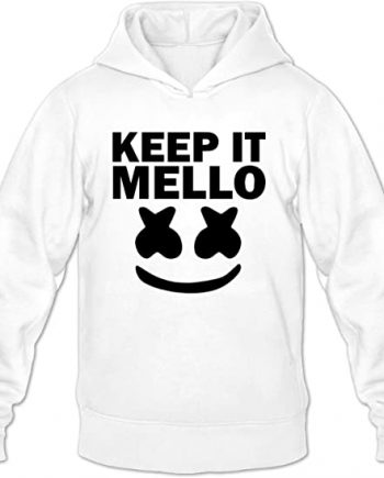 Marshmello Keep It Mello Printed Jacket Hoodie