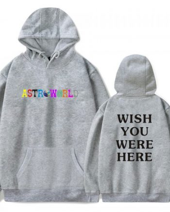 Astroworld Wish You Were Here Printed Hoodie