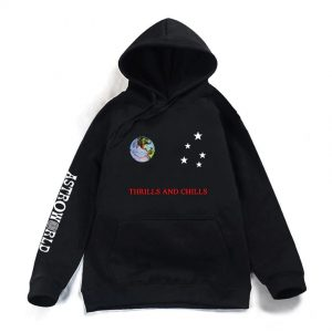 Thrills and Chills Astroworld Printed Hoodie