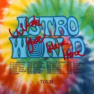 Astroworld Tie Dye Causal Hoodie