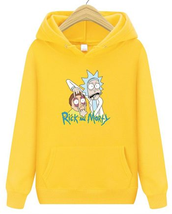 Ropa Deportiva Rick and Morty Hoodie