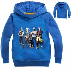 Dabbing Kids Puppet Hoodie in Blue Color