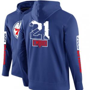 Eastern Team Winter Fleece Guard Basketball Blue Hoodie