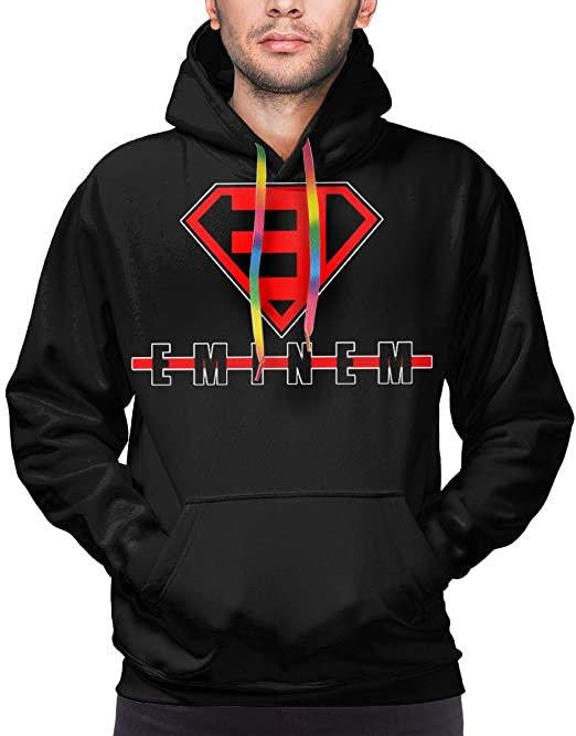 Eminem Logo Men's 3D Print Pullover Hooded