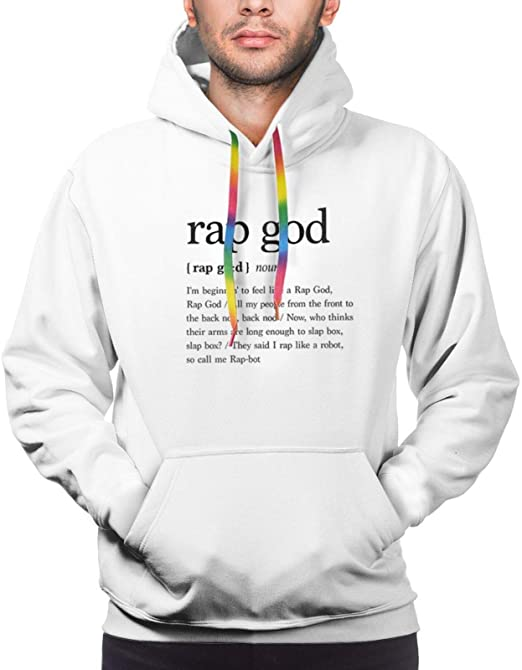 Eminem Men's Fashion Casual Pullover Hoodie