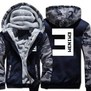 Eminem hoodie Warm Coat For Men