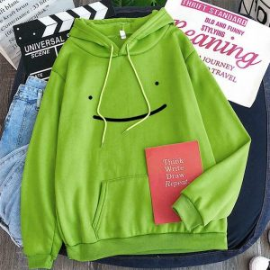 Green Hoodie New Trendy Pullover Tracksuit (Unisex)(front)