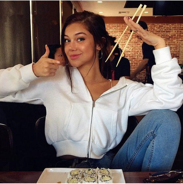 Women Long Sleeve Cropped Zipper Hoodie