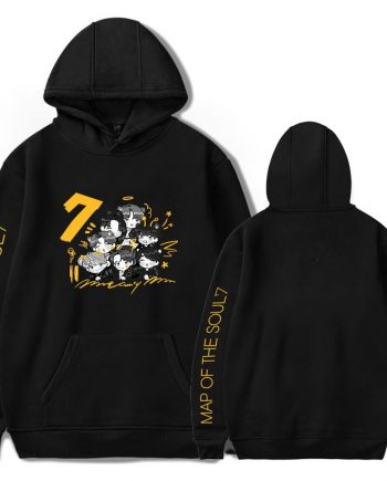 Map of The Soul 7 World Tour BTS Hoodie ( Black )