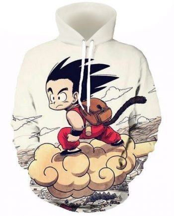 Anime Dragon Ball Z Pocket Hoodie