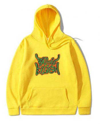 Bilie Eilis Unisex Cotton Hoodie(Yellow)