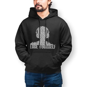 Eminem Fall Fleece Quality Customize Black Hoody