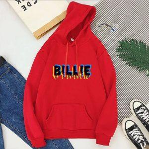 Billie Eilish Text Billie Hoodie