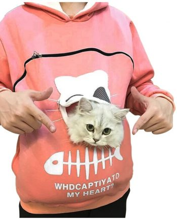 Latest Animal Cat Pouch Hoodie