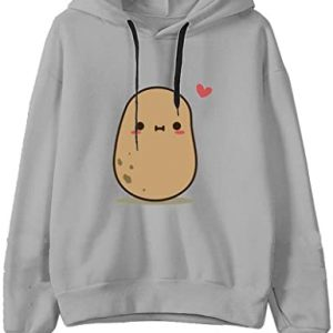 Hoodies for Women Teen Girls Fashion Long Sleeve Cartoon Print Hooded Sweatshirt