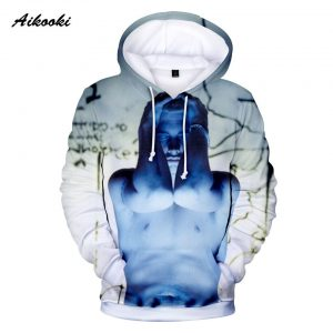 Hot Sale Eminem 3D Casual Hoodies Print Rapper Eminem Pullover Street Wear Hip Hop