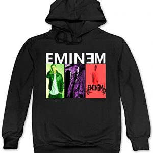 Hotcy Eminem Songs Men's Blank Hooded Sweatshirt