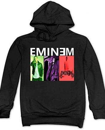 Hot Eminem Songs Men's Blank Hooded