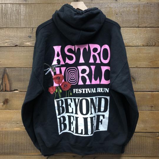 "Astroworld Tour Hoodie ""Volume"" Festival Run"