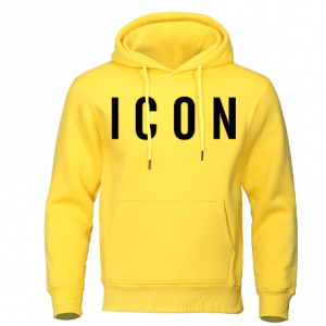 I con Yellow Hoodie