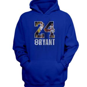 New Arrivals Kobe Bryant Blue Hoodie