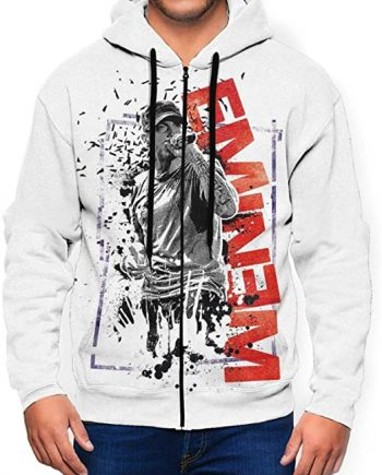 MarcoLyons Eminem Pocket with Zipper Hoodie