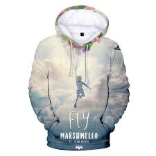 Marshmello Hoodie Fashion Popular 3D Print Shirt