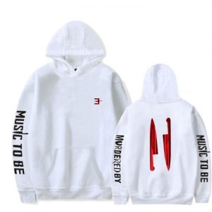 MenWomen Cool Harajuku Hooded Sweatshirt Music to Be Murdered by Eminem