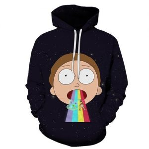 Morty Smith 3D Hoodie