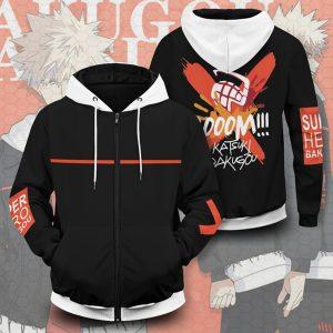 My Hero Academia Comic Hoodies Cosplay Costumes Anime Hooded Sweater Jacket Coat