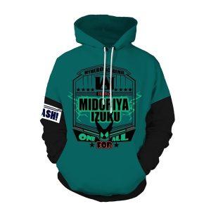 My Hero Academia Midoriya Izuku Cosplay Men Sweatshirt Hoodies