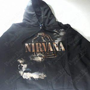Nirvana - Bleach Bottle Zip-Up Hoodie