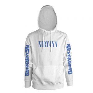 Nirvana Hoodie Nevermind White
