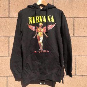 Nirvana In Utero Hoodie