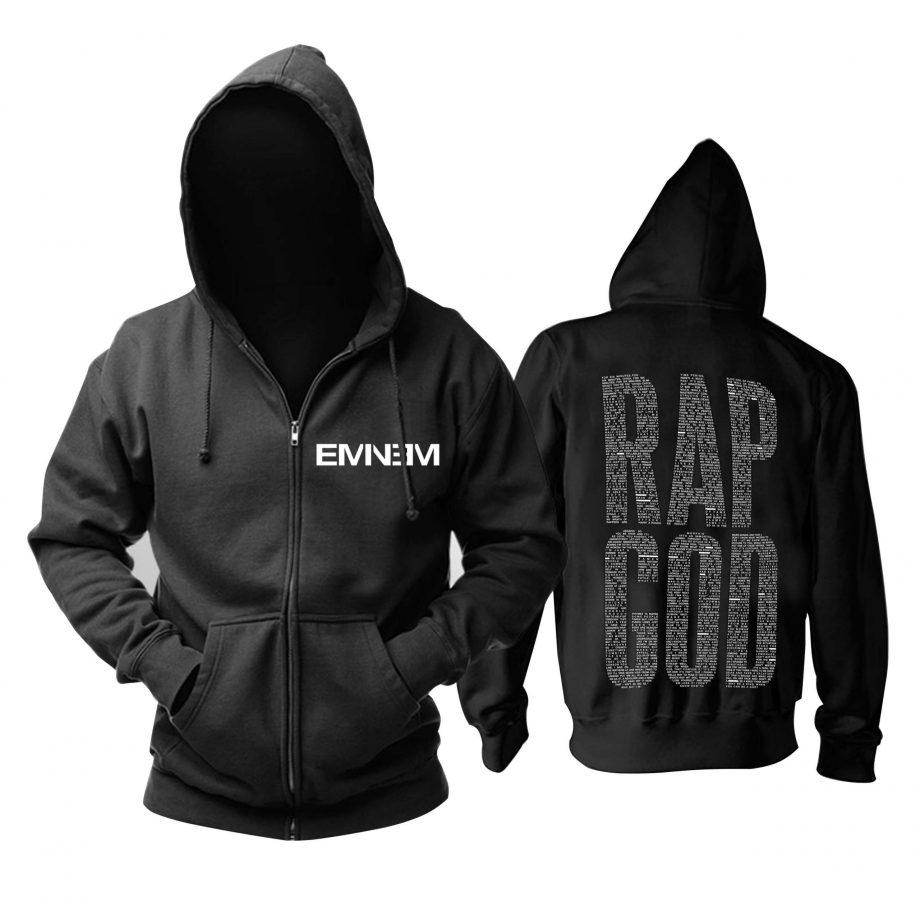 Quality Eminem Music Black Sweatshirt Hoodie