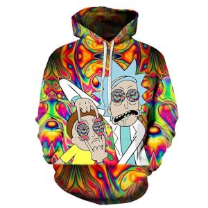 Rick-and-Morty-On-Drugs-Hoodie