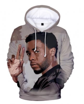 Chadwick Boseman 3d Printed Hoodie