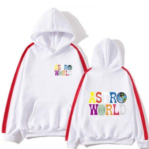 Travis Scotts ASTROWORLD Hoodies new style streetwear PulloverColorblock